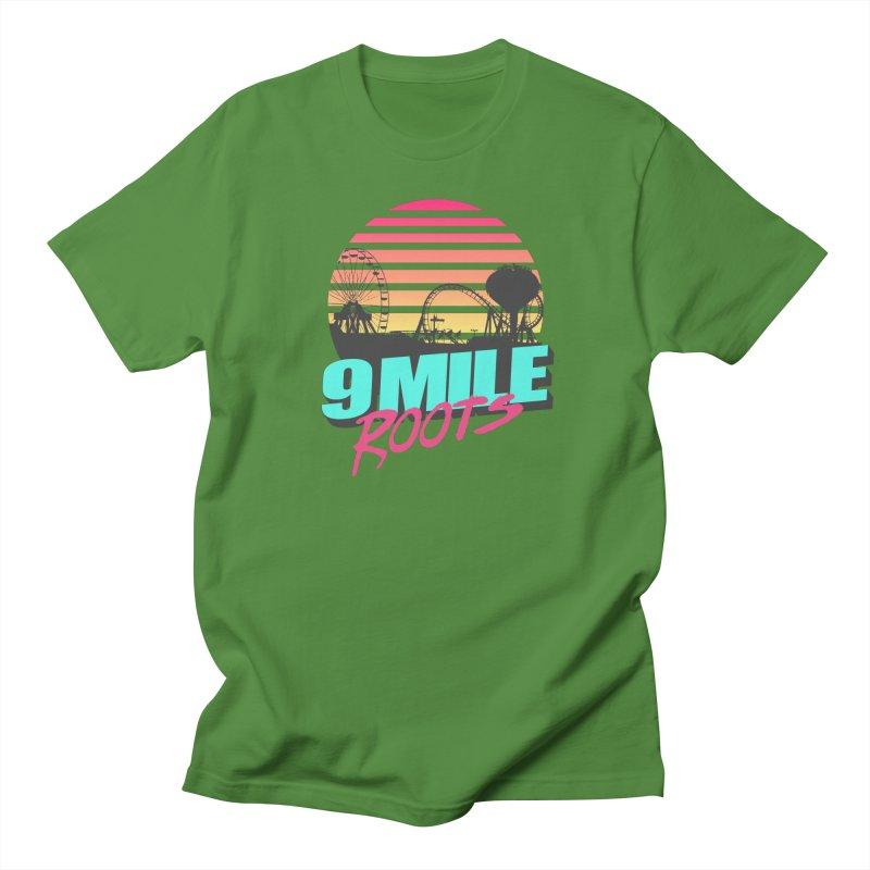 9 Mile Roots Ocean City Men's Regular T-Shirt by MD Design Labs's Artist Shop