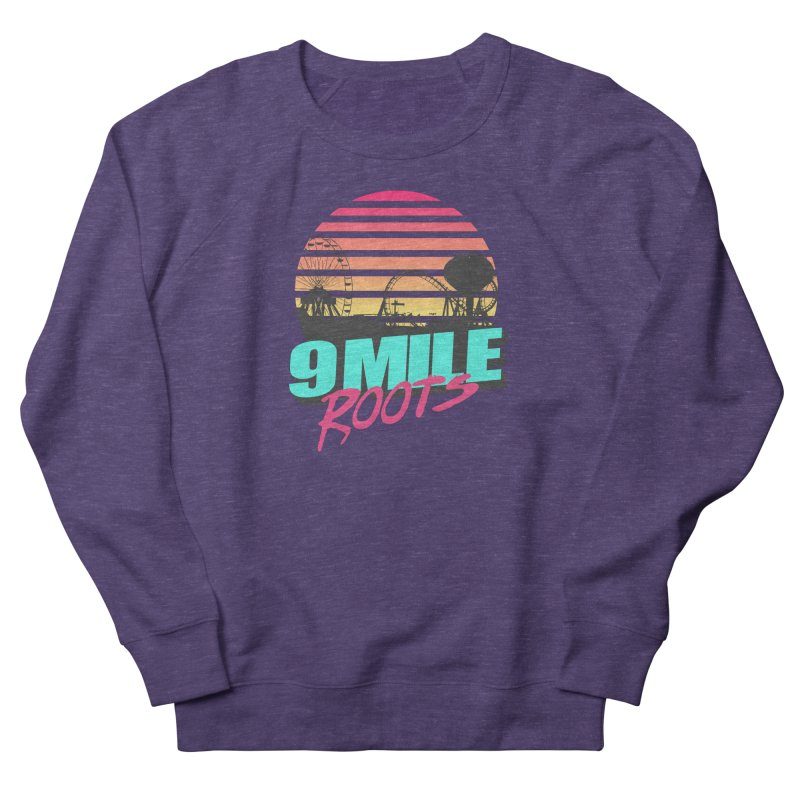 9 Mile Roots Ocean City Women's French Terry Sweatshirt by MD Design Labs's Artist Shop