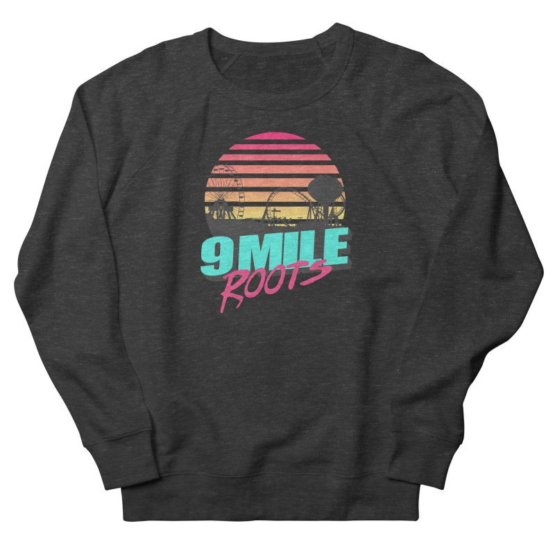 9 Mile Roots Ocean City Men's French Terry Sweatshirt by MD Design Labs's Artist Shop