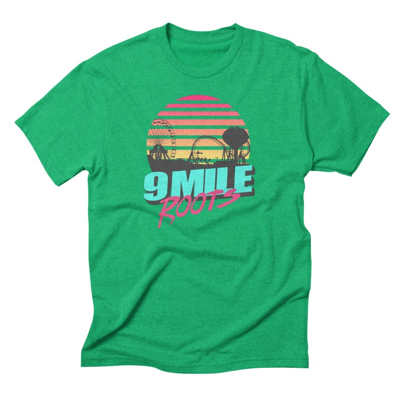 9 Mile Roots Ocean City Men's Triblend T-Shirt by MD Design Labs's Artist Shop