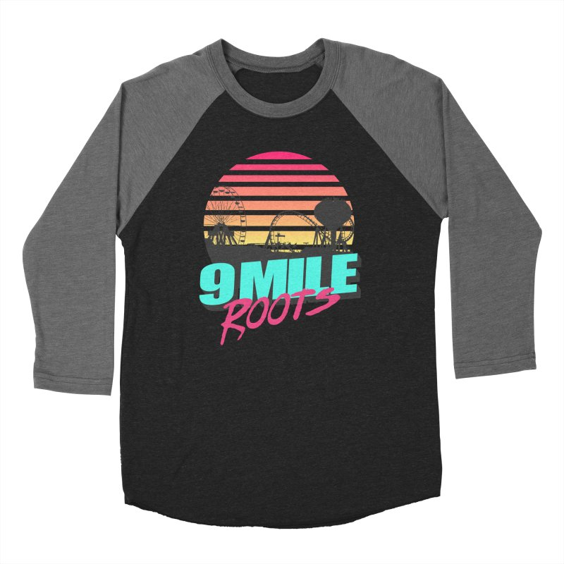 9 Mile Roots Ocean City Women's Baseball Triblend Longsleeve T-Shirt by MD Design Labs's Artist Shop