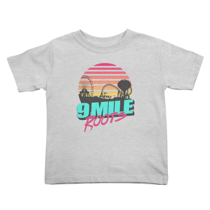 9 Mile Roots Ocean City Kids Toddler T-Shirt by MD Design Labs's Artist Shop