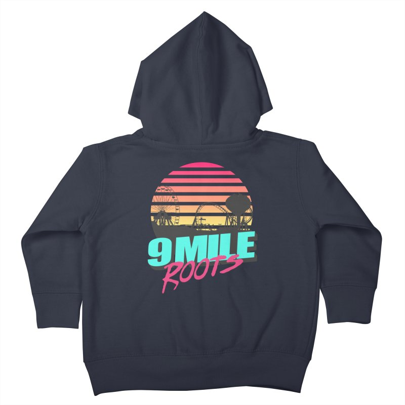 9 Mile Roots Ocean City Kids Toddler Zip-Up Hoody by MD Design Labs's Artist Shop