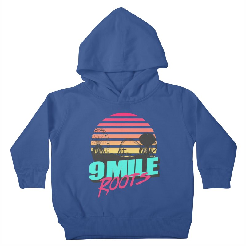9 Mile Roots Ocean City Kids Toddler Pullover Hoody by MD Design Labs's Artist Shop