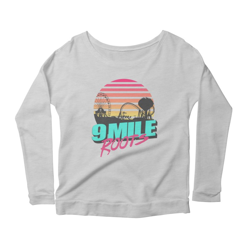 9 Mile Roots Ocean City Women's Scoop Neck Longsleeve T-Shirt by MD Design Labs's Artist Shop