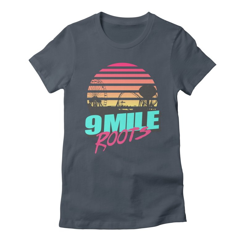9 Mile Roots Ocean City Women's T-Shirt by MD Design Labs's Artist Shop