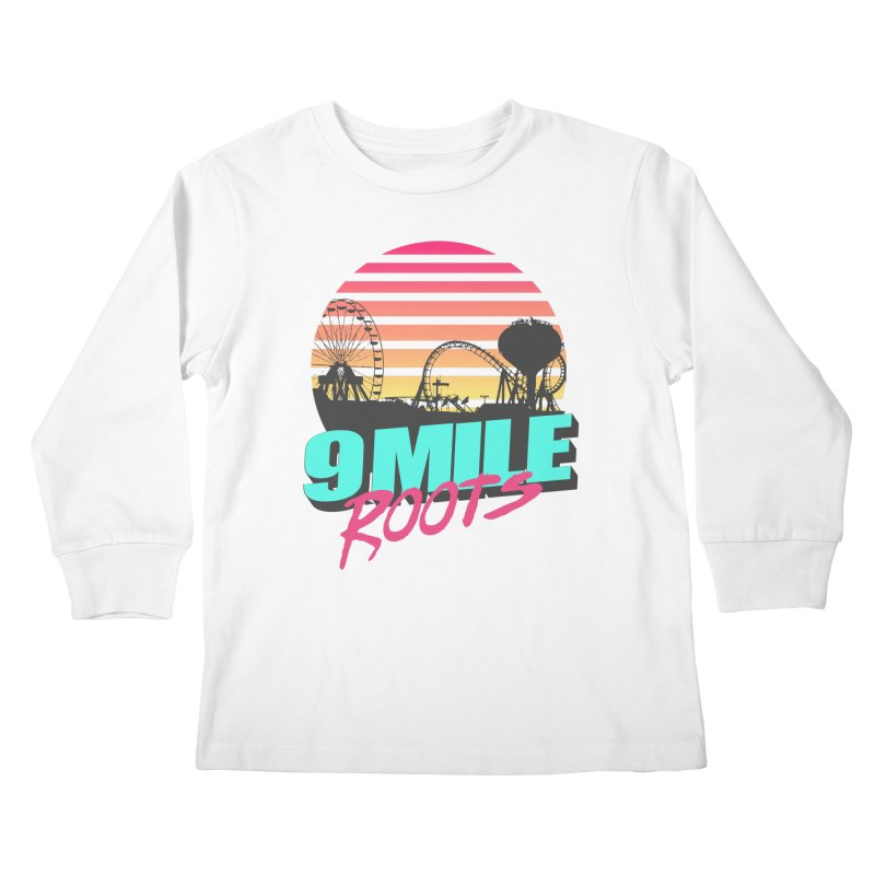 9 Mile Roots Ocean City Kids Longsleeve T-Shirt by MD Design Labs's Artist Shop