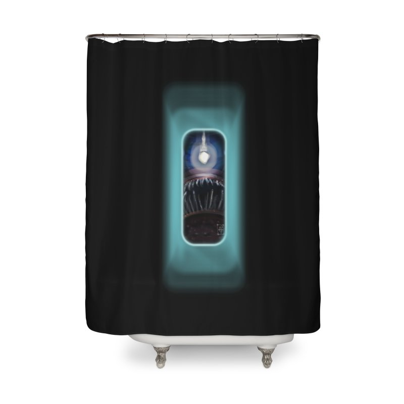 Three Crows Angler Inside Home Shower Curtain by MD Design Labs's Artist Shop