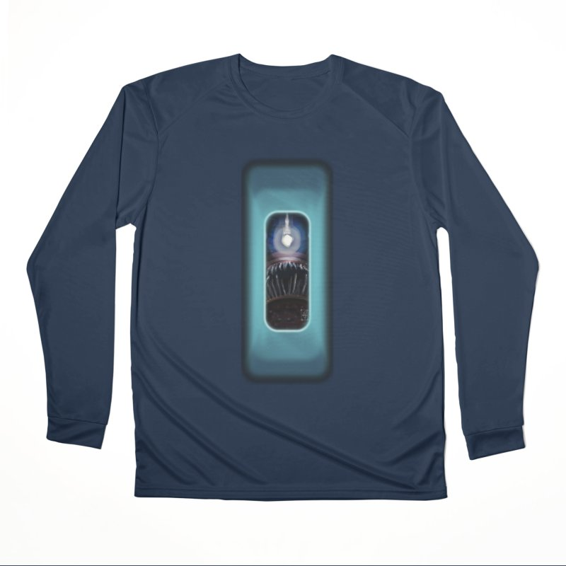 Three Crows Angler Inside Women's Performance Unisex Longsleeve T-Shirt by MD Design Labs's Artist Shop