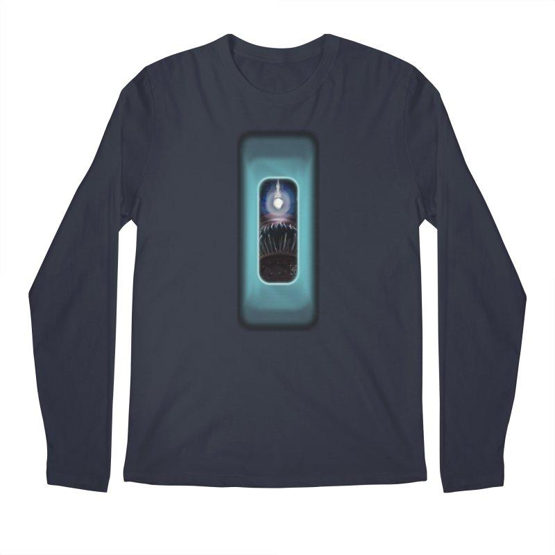 Three Crows Angler Inside Men's Regular Longsleeve T-Shirt by MD Design Labs's Artist Shop