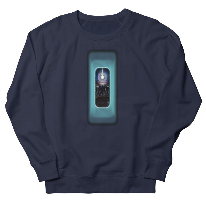 Three Crows Angler Inside Women's French Terry Sweatshirt by MD Design Labs's Artist Shop