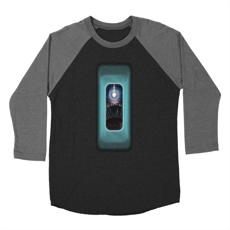 Three Crows Angler Inside Women's Baseball Triblend Longsleeve T-Shirt by MD Design Labs's Artist Shop