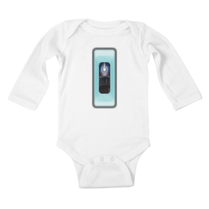 Three Crows Angler Inside Kids Baby Longsleeve Bodysuit by MD Design Labs's Artist Shop