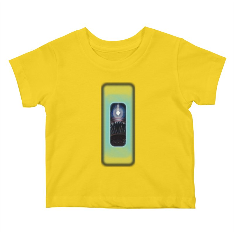 Three Crows Angler Inside Kids Baby T-Shirt by MD Design Labs's Artist Shop