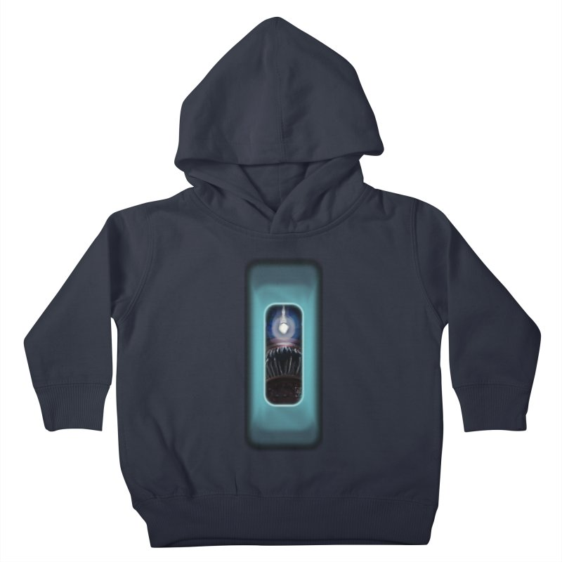 Three Crows Angler Inside Kids Toddler Pullover Hoody by MD Design Labs's Artist Shop