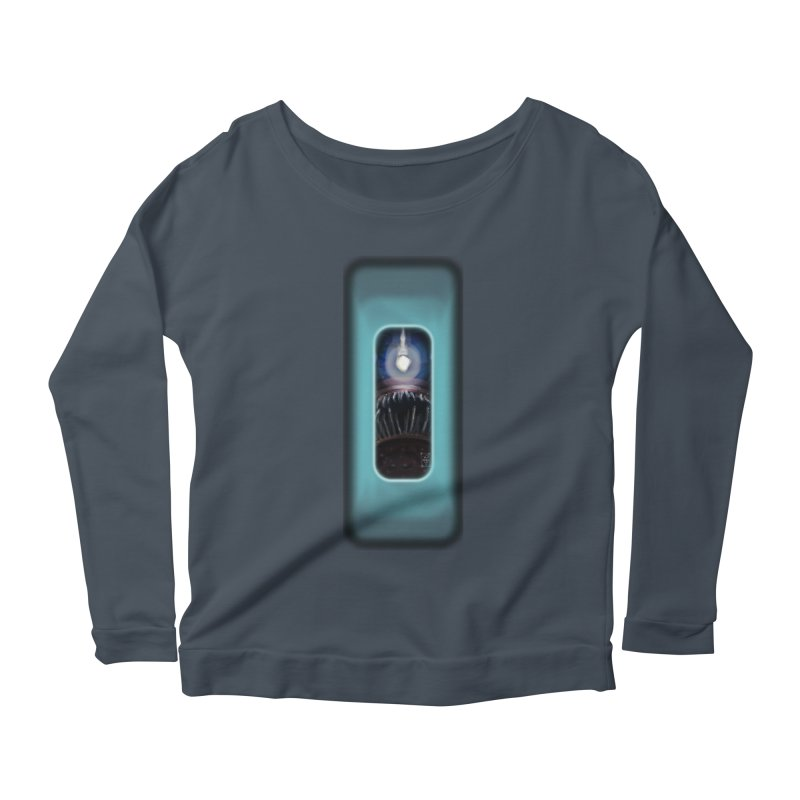 Three Crows Angler Inside Women's Scoop Neck Longsleeve T-Shirt by MD Design Labs's Artist Shop