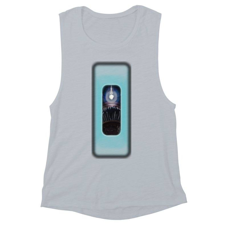 Three Crows Angler Inside Women's Muscle Tank by MD Design Labs's Artist Shop