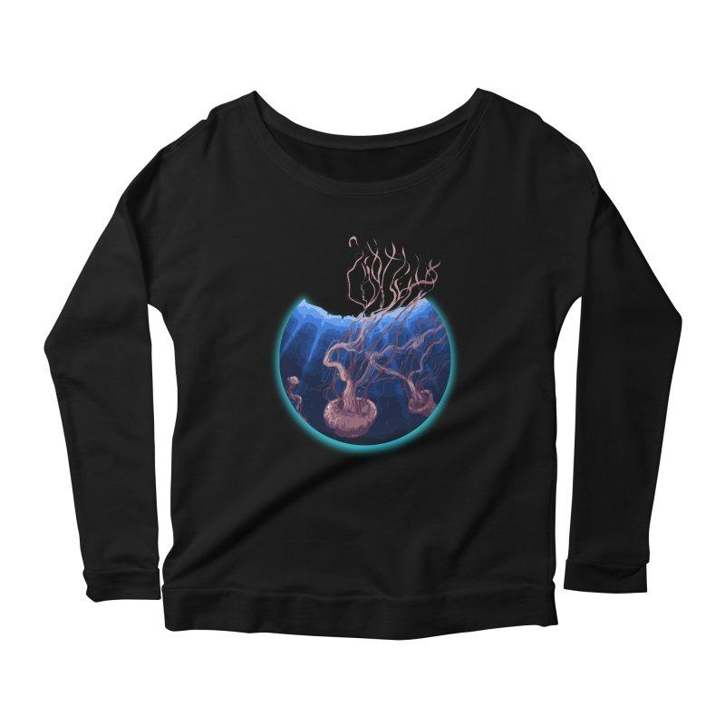 Jelly Women's Scoop Neck Longsleeve T-Shirt by MD Design Labs's Artist Shop
