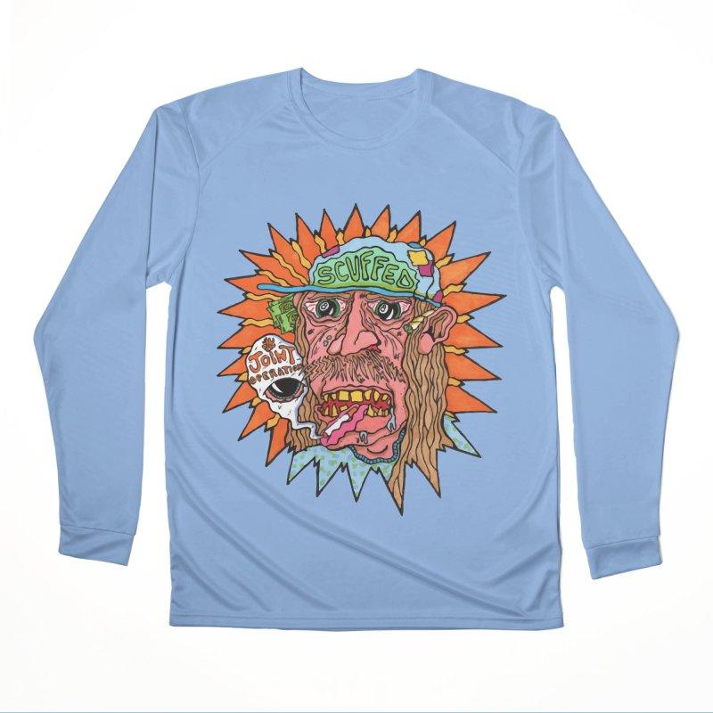 Scuffed Women's Longsleeve T-Shirt by MD Design Labs's Artist Shop