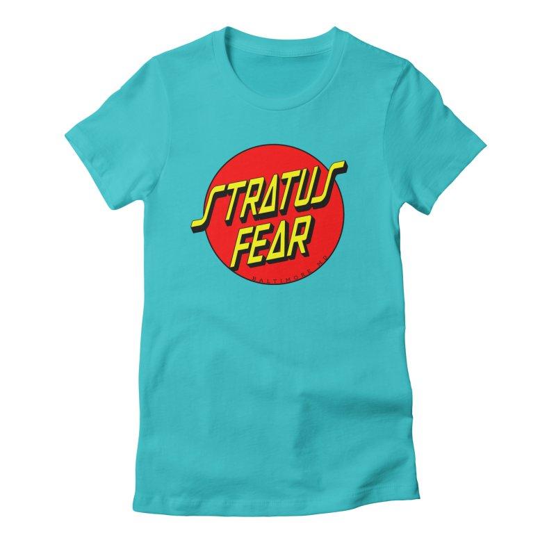 Stratus Fear Cruz Logo Women's T-Shirt by MD Design Labs's Artist Shop