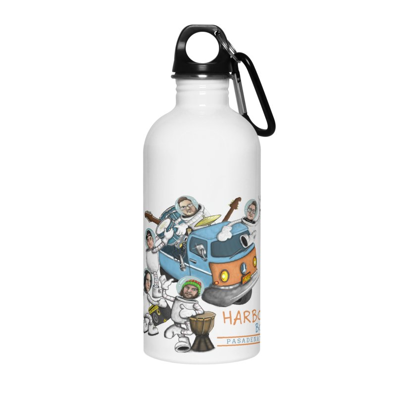 Harbor Boys Band Cartoon Accessories Water Bottle by MD Design Labs's Artist Shop