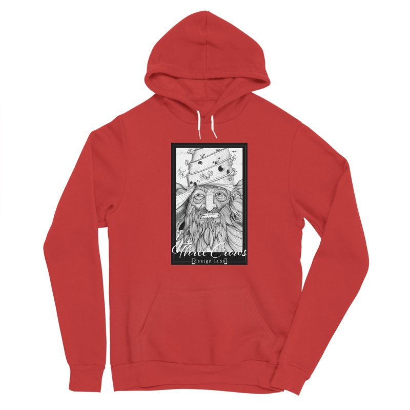 "Three Crows Design Labs ""Home"" Men's Sponge Fleece Pullover Hoody by MD Design Labs's Artist Shop"
