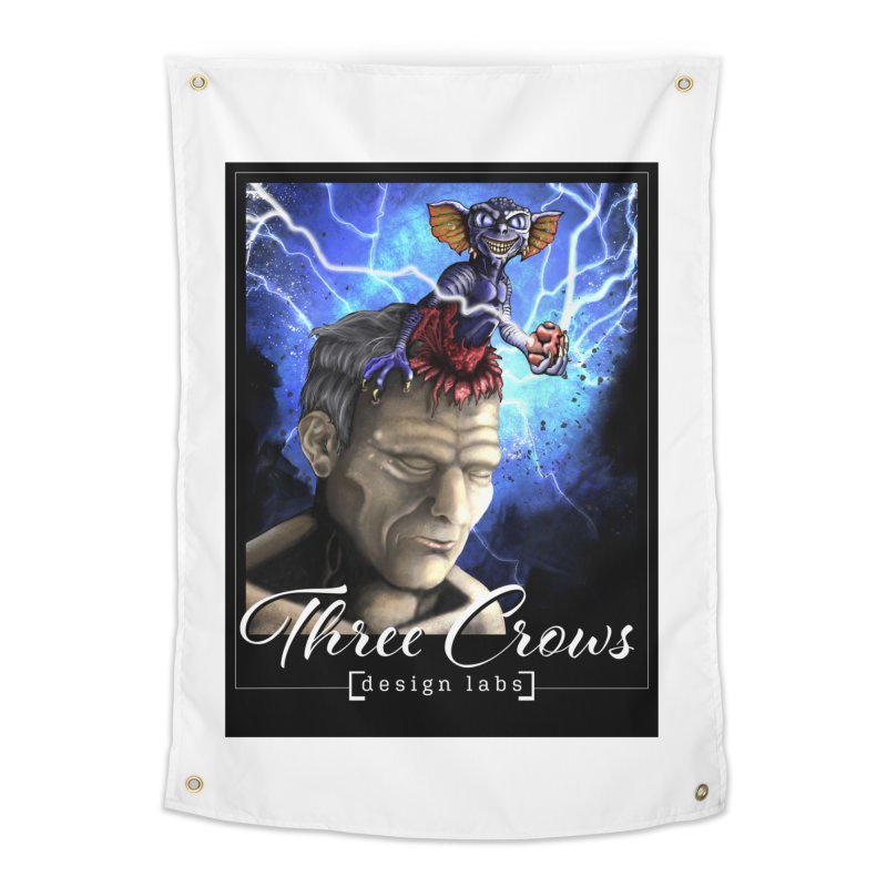 Three Crows Design Labs Gremlin Home Tapestry by MD Design Labs's Artist Shop