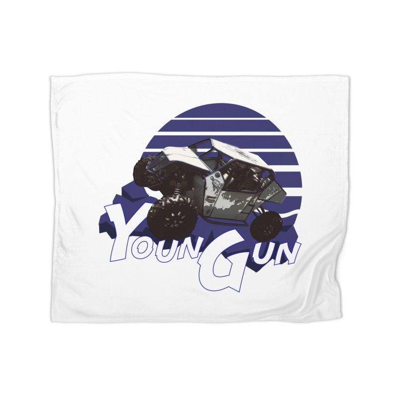 Young Gun Home Fleece Blanket Blanket by MD Design Labs's Artist Shop