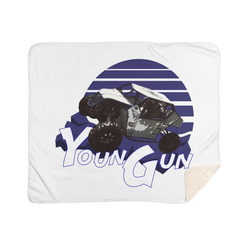 Young Gun Home Sherpa Blanket Blanket by MD Design Labs's Artist Shop