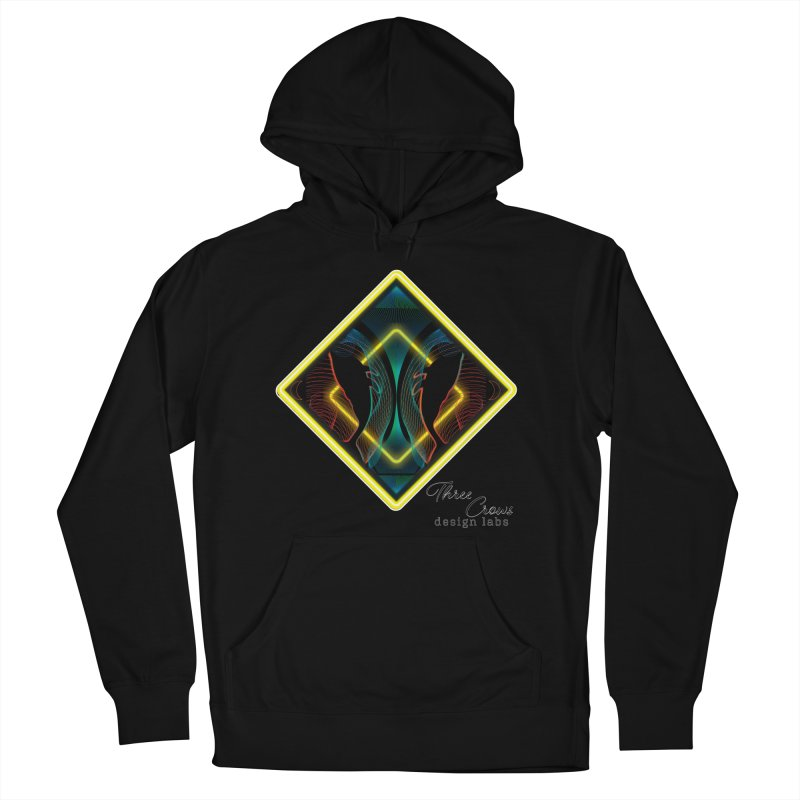 Whales Men's French Terry Pullover Hoody by MD Design Labs's Artist Shop