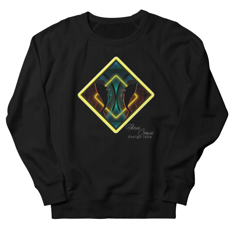 Whales Women's French Terry Sweatshirt by MD Design Labs's Artist Shop