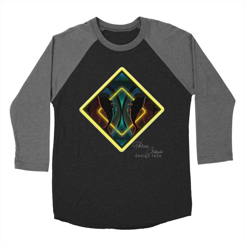Whales Men's Baseball Triblend Longsleeve T-Shirt by MD Design Labs's Artist Shop