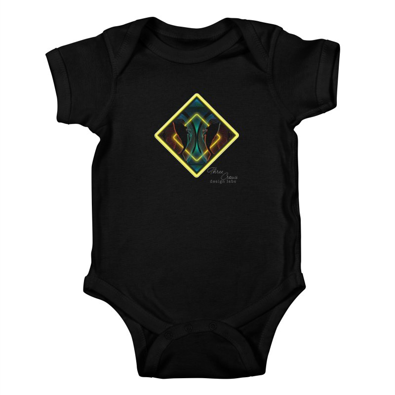 Whales Kids Baby Bodysuit by MD Design Labs's Artist Shop