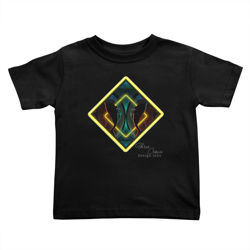 Whales Kids Toddler T-Shirt by MD Design Labs's Artist Shop