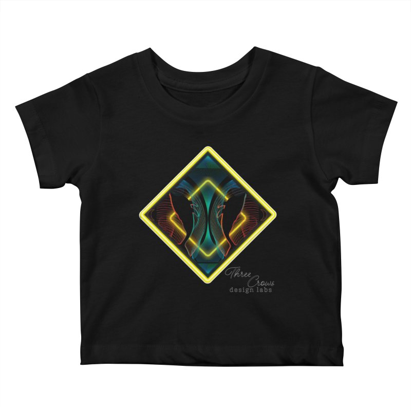 Whales Kids Baby T-Shirt by MD Design Labs's Artist Shop