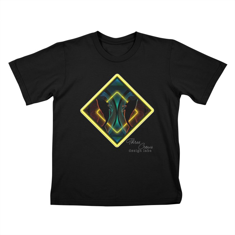 Whales Kids T-Shirt by MD Design Labs's Artist Shop