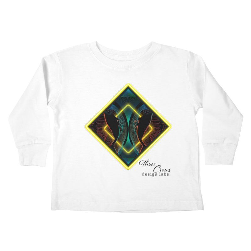 Whales Kids Toddler Longsleeve T-Shirt by MD Design Labs's Artist Shop