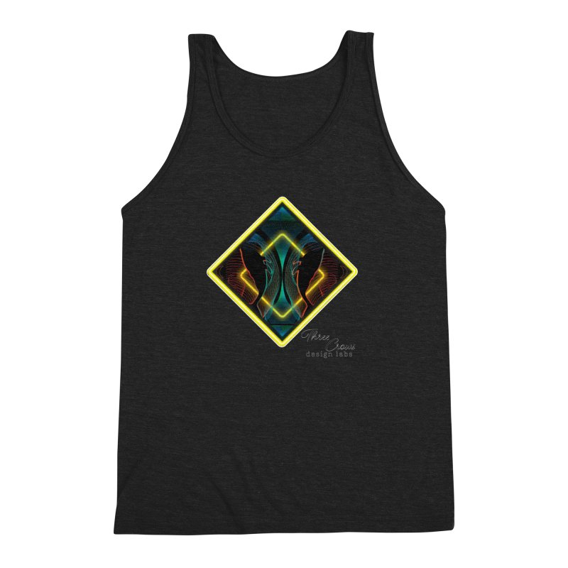 Whales Men's Triblend Tank by MD Design Labs's Artist Shop