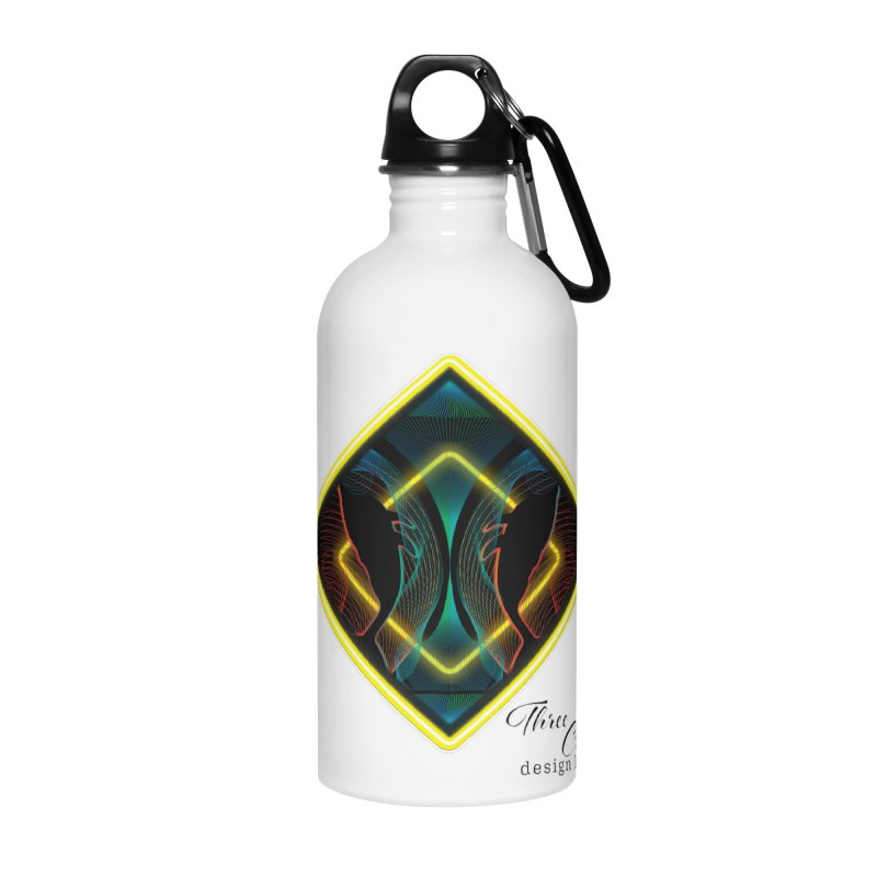 Whales Accessories Water Bottle by MD Design Labs's Artist Shop