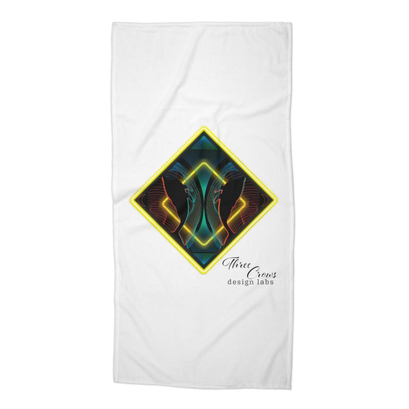 Whales Accessories Beach Towel by MD Design Labs's Artist Shop