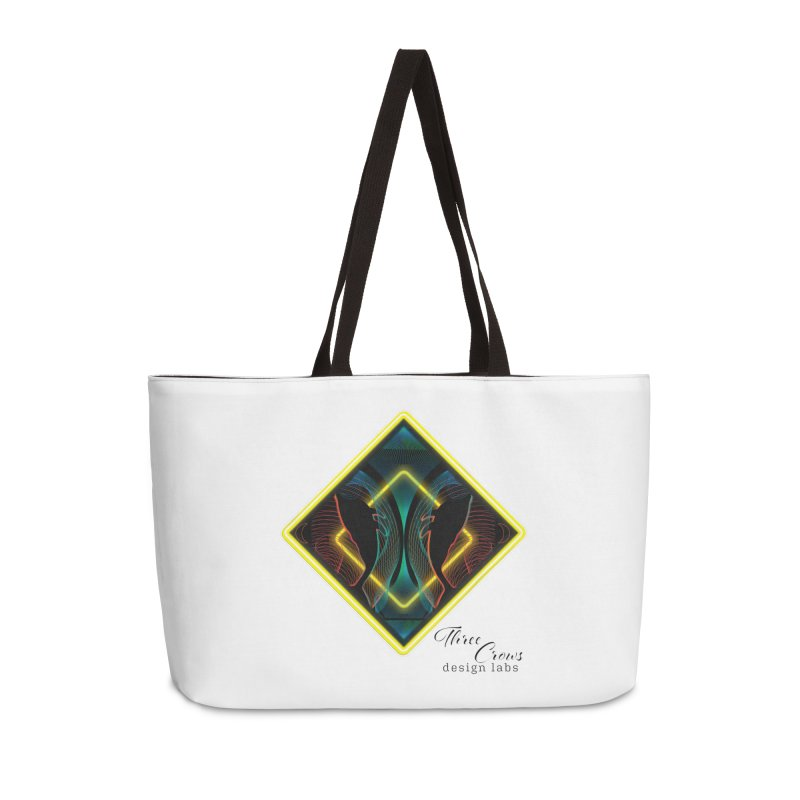Whales Accessories Weekender Bag Bag by MD Design Labs's Artist Shop