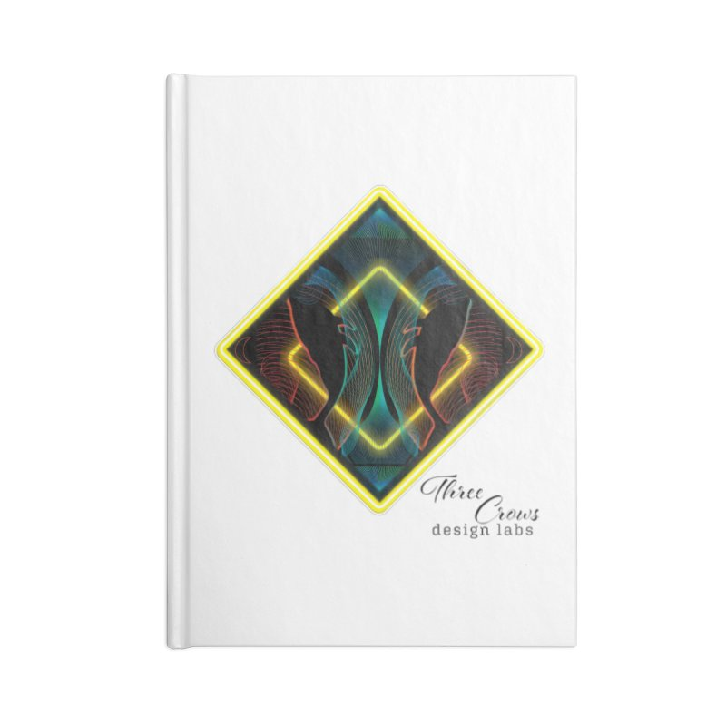 Whales Accessories Lined Journal Notebook by MD Design Labs's Artist Shop