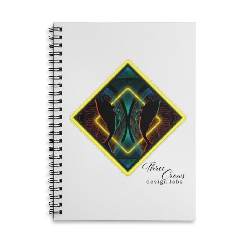 Whales Accessories Lined Spiral Notebook by MD Design Labs's Artist Shop