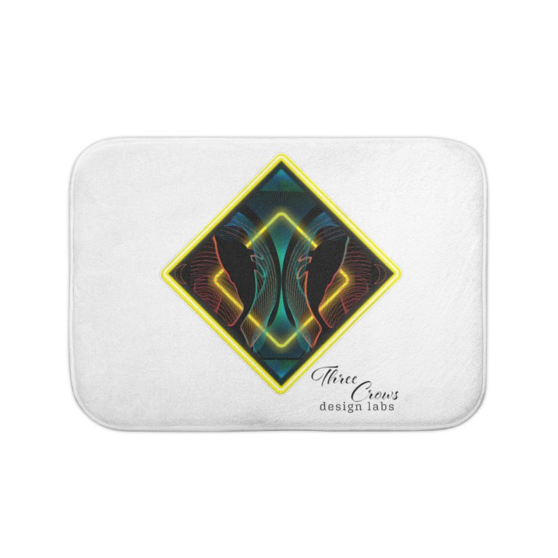 Whales Home Bath Mat by MD Design Labs's Artist Shop