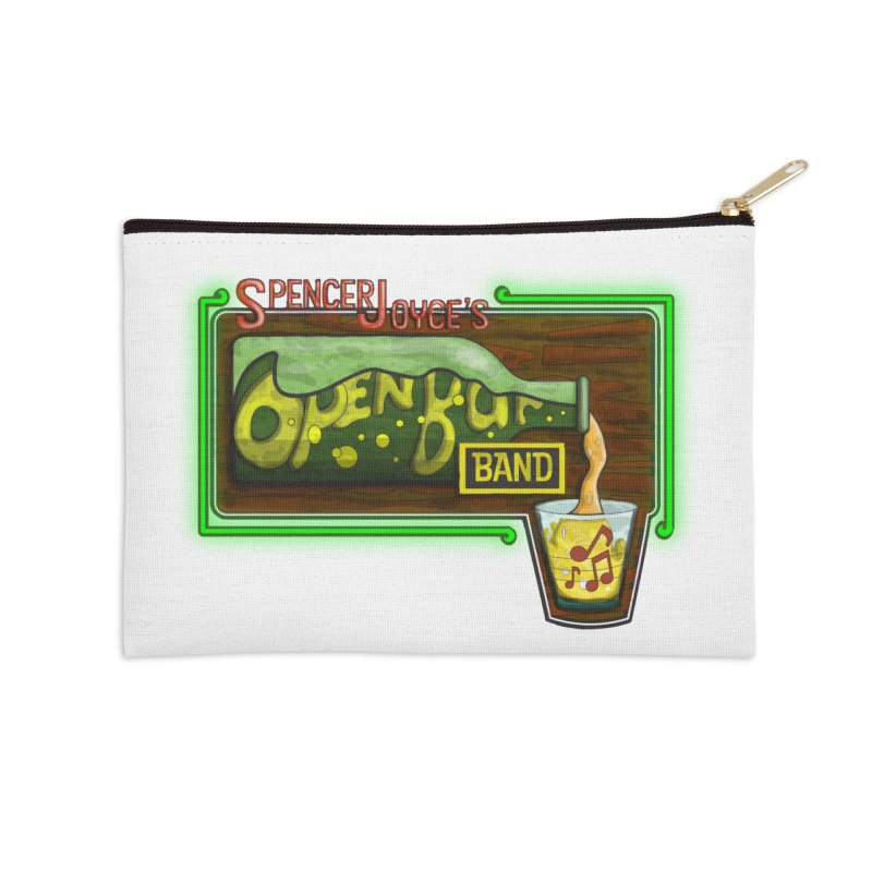 Spencer Joyce's Open Bar Accessories Zip Pouch by MD Design Labs's Artist Shop