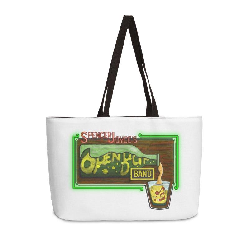 Spencer Joyce's Open Bar Accessories Weekender Bag Bag by MD Design Labs's Artist Shop