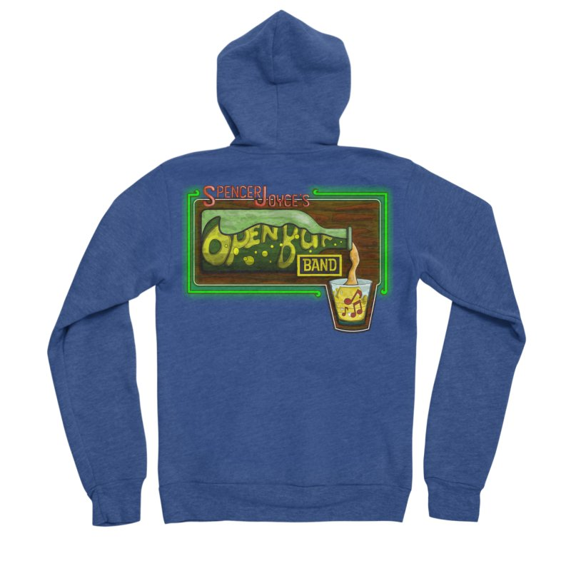 Spencer Joyce's Open Bar Women's Sponge Fleece Zip-Up Hoody by MD Design Labs's Artist Shop