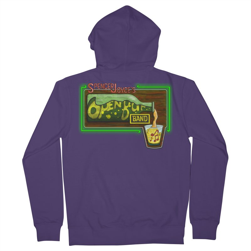 Spencer Joyce's Open Bar Women's French Terry Zip-Up Hoody by MD Design Labs's Artist Shop