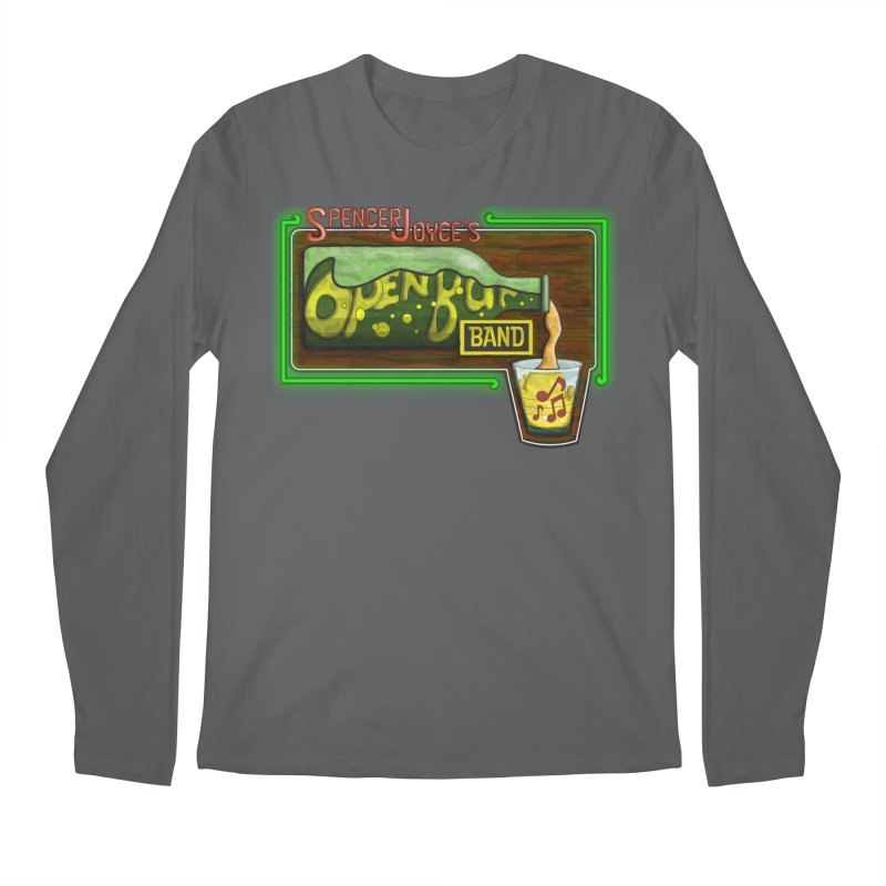 Spencer Joyce's Open Bar Men's Longsleeve T-Shirt by MD Design Labs's Artist Shop