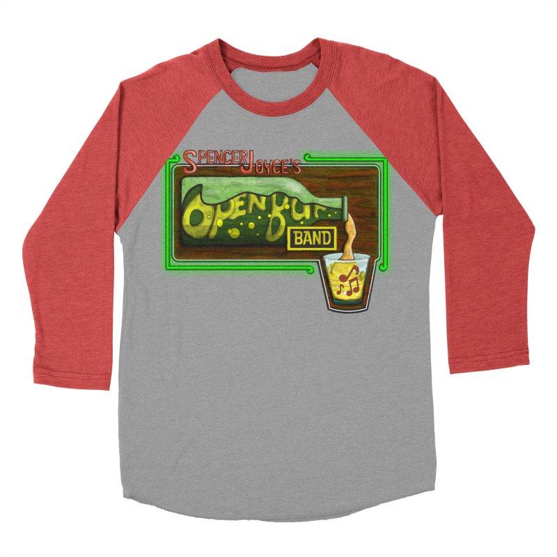 Spencer Joyce's Open Bar Men's Baseball Triblend Longsleeve T-Shirt by MD Design Labs's Artist Shop